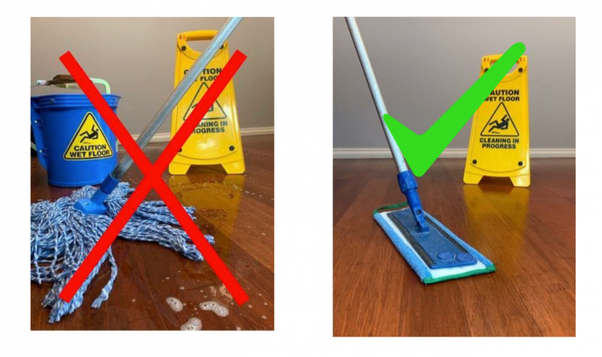 Is your aged care facility cleaning program spreading germs or cleaning?